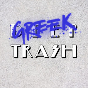 open-call-deep-trash-greek-trash-logo