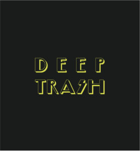 Deep Trash Tote Bag Gold Logo