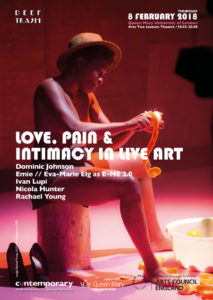 Love_Pain_&_Intimacy_in_Live_Art_poster